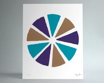 Untitled (Pinwheel / Violet)