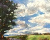 Turn, Original oil painting