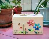 Original Enid Collins of Texas - flora + fauna Box Bag