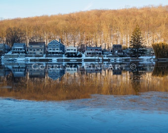 Early Morning Winter on the Housatonic I