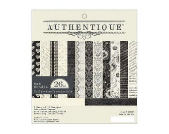 """Authentique Paper Collection """"Irresistible"""" 6x6 Pad"""