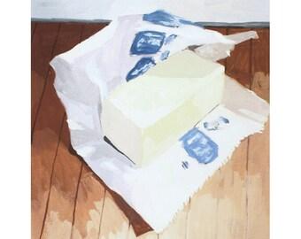 """8x10"""" print - still life - """"Butter"""""""