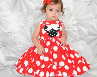 Size 18 Months Red Minnie Mouse Dress