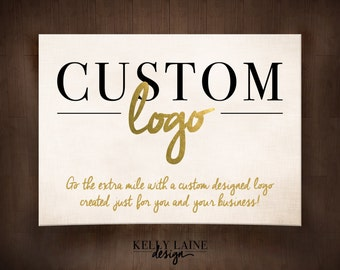 Custom Logo Design - customizable for your business or shop