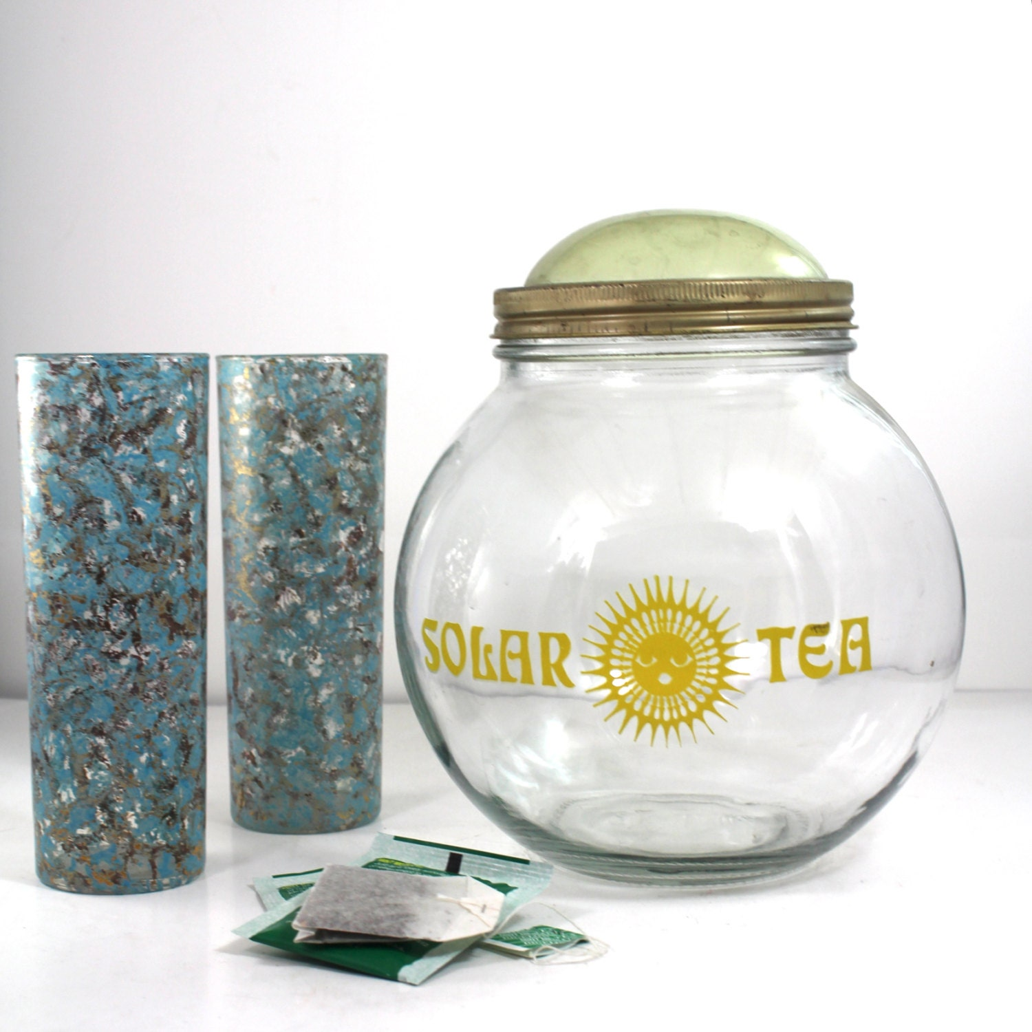 Solar Tea Sun powered brewing Jar by SugarLMtnAntqs on Etsy