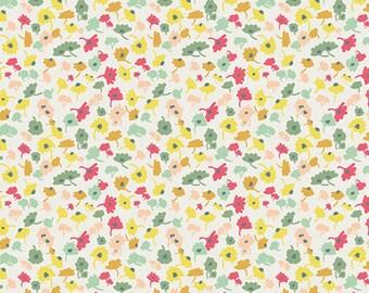 Art Gallery Fabrics - Delicate Femme - Vanilla - Rapture Collection - Pat Bravo - 1 Yard