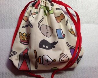 Princess Bride Drawstring Project Bag