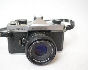 Very Nice Vintage Fujica ST605N Model 35MM camera- Check out all of our cameras
