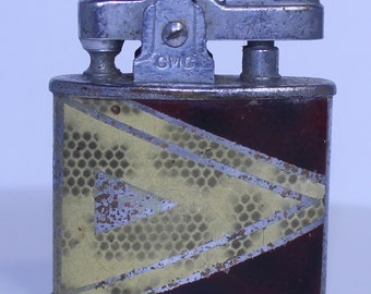 CMC Continental Lighter, Vintage Lighter, Small Vintage Lighter, Vintage Cigarette Lighter