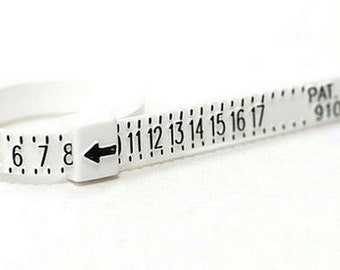 Reusable Ring Sizer. Easily find your ring size.
