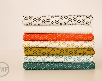 Fat Quarter Bundle Nomad Arrowhead, 7 Pieces, Urban Chiks, 100% Cotton, Moda Fabrics, 31106