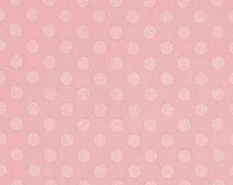Pearlized Spots in Baby Pink