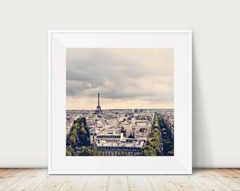 paris photography eiffel tower photograph paris decor french wall art paris art travel photography paris rooftops