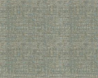 Textured Chenille with a play on the linen trend -Texture and Depth - Upholstery Fabric - Duty Free Canada- Color: Sea Breeze -per yard