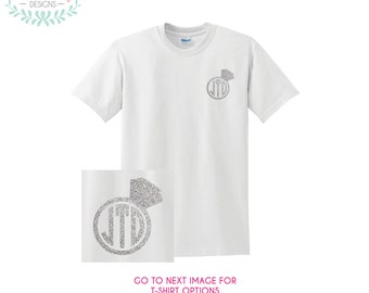 Monogram Diamond Ring T-Shirt