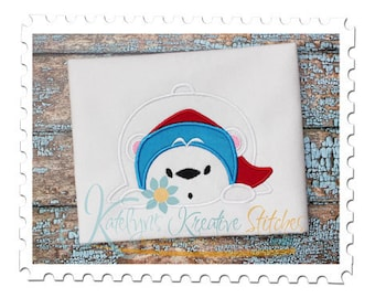 Polar Bear Applique