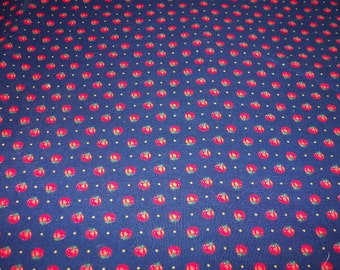 Tomatoes Fabric Very Small Print By The Fat Quarter New BTFQ