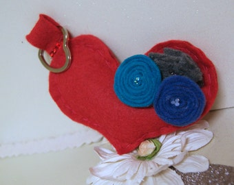My Rosy Heart of Blue