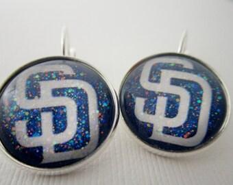 San Diego Padres Star Girl Earrings
