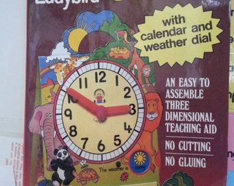 1984 The Ladybird Clock by Discovery Toys