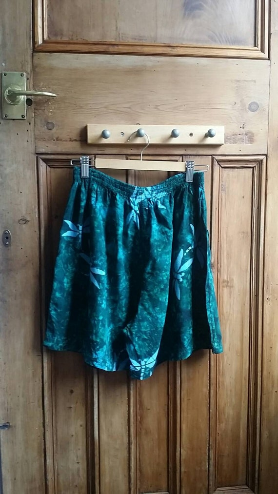 festival clothing dragonfly shorts small by dollycalledtopsy