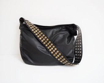 Veronica Mars Bag - Leather - Plain Front & Back (Large), Messenger bag, Cross Body Purse, Borse, Bourse, Cuir, Bolso Cuero, Tasche