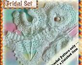 PDF Crochet Pattern Bridal Set