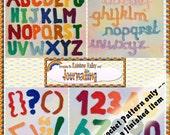 PDF Crochet Pattern Scrapbooking Journalling