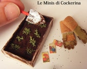 gardening set - 1:12 scale miniatures for dollhouses