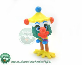 Vintage McDonalds 1980s Toy Funny Fry Friends Too Tall Clown