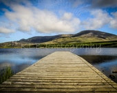 Serene Dock and Lake in County Donegal - Ireland Landscape Photography