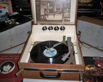 Vintage Mid Century Motorola Model SH12N Tube Stereo Record Player