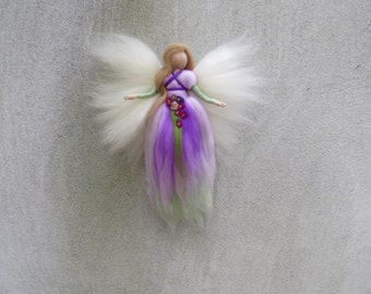 Angel Elisa needle felted and waldorf inspried
