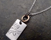 Mali Necklace ~ Small ~ Bird / Cherry Blossom