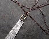 Voila Necklace ~ Boho Series ~ Fern Leaf