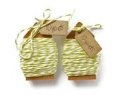 Soft Green bakers twine Wrapping cord string 20 yards