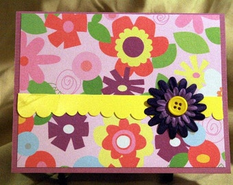 Floral Card for Any Occasion  20150073