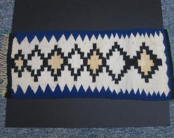 Small Navajo Hand Woven Rug