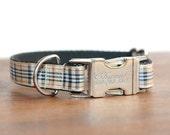 Personalized collars, Christmas Collars, Designer dog collar