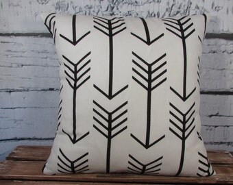 Arrows pillow cover - Cotton pillow - Decorative Pillow - Pillow Insert Sold Separately