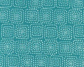 Stitch Square - Teal from Michael Miller