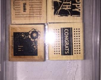 Stampin Up Four Square Stamp Set