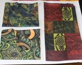 3 most popular Dreadlock socks. Comes with Earthy, Green and gold, Kaleidoscope