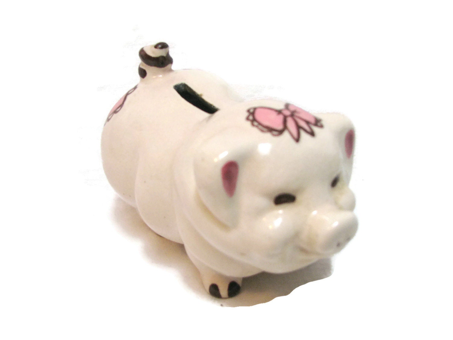 Piggy bank vintage the ross ceramic originals california for How to make a piggy bank you can t open