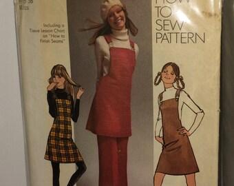 1971 Vintage Mini Jumper & Pants Pattern