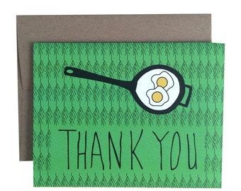 Eggs - Thank you card