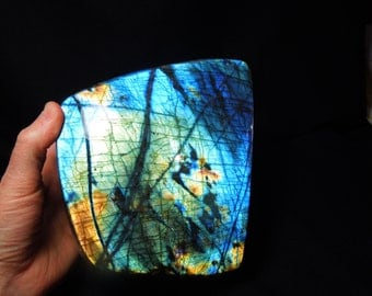 Labradorite Free From, 9.75 lbs., Beautiful Flash