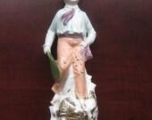 Vintage Porcelain Statue From Pre War Germany