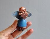 Vintage German Angel Ornament -  Kathe Wohlfahrt