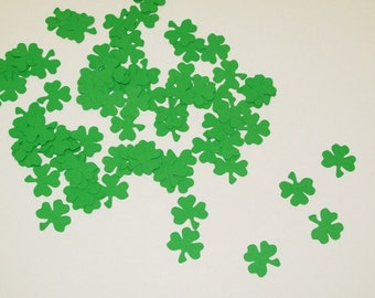 Shamrock Confetti/ St. Patricks Day/ Party Supplies/Happy Birthday / Party /100 Pieces